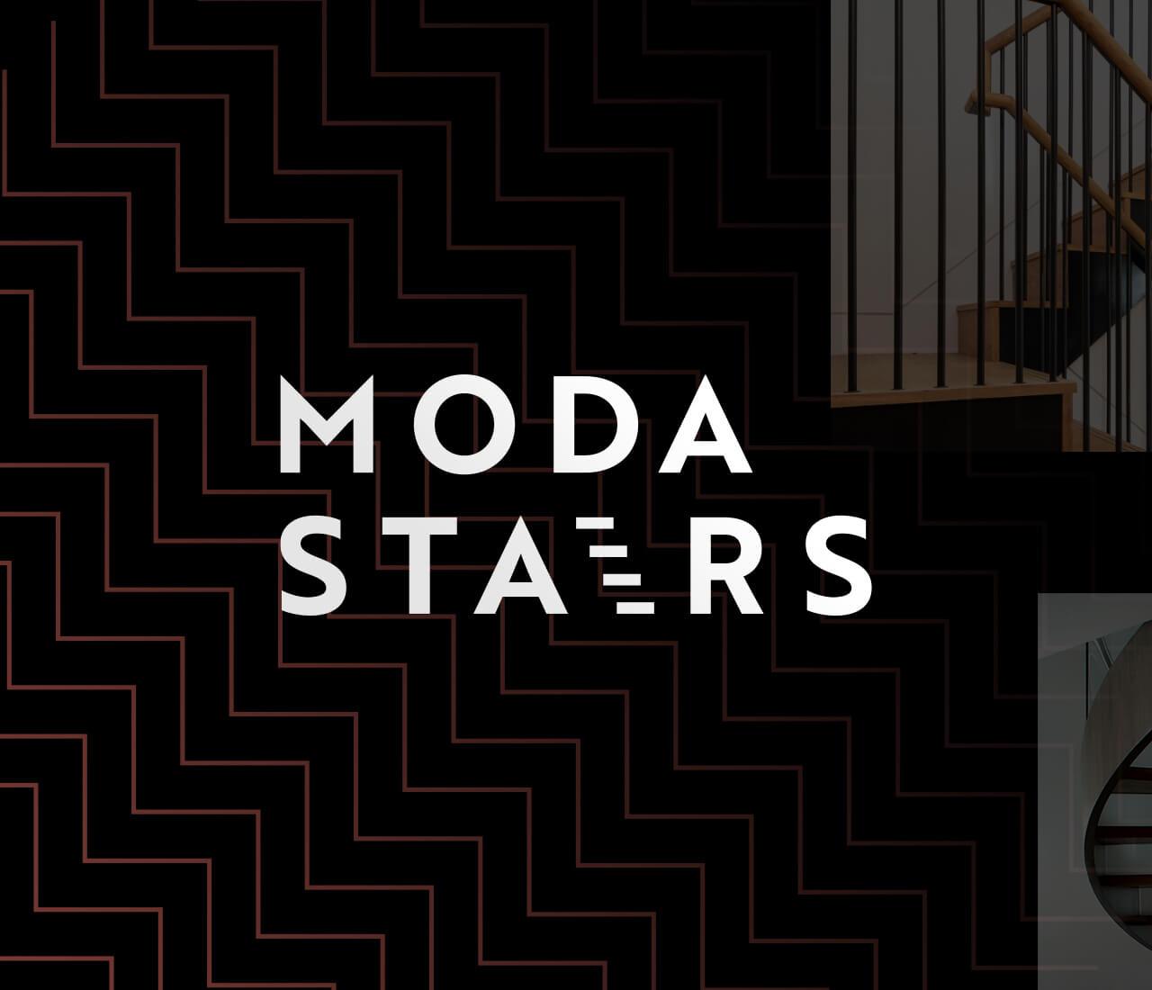 logo design for moda stairs uk