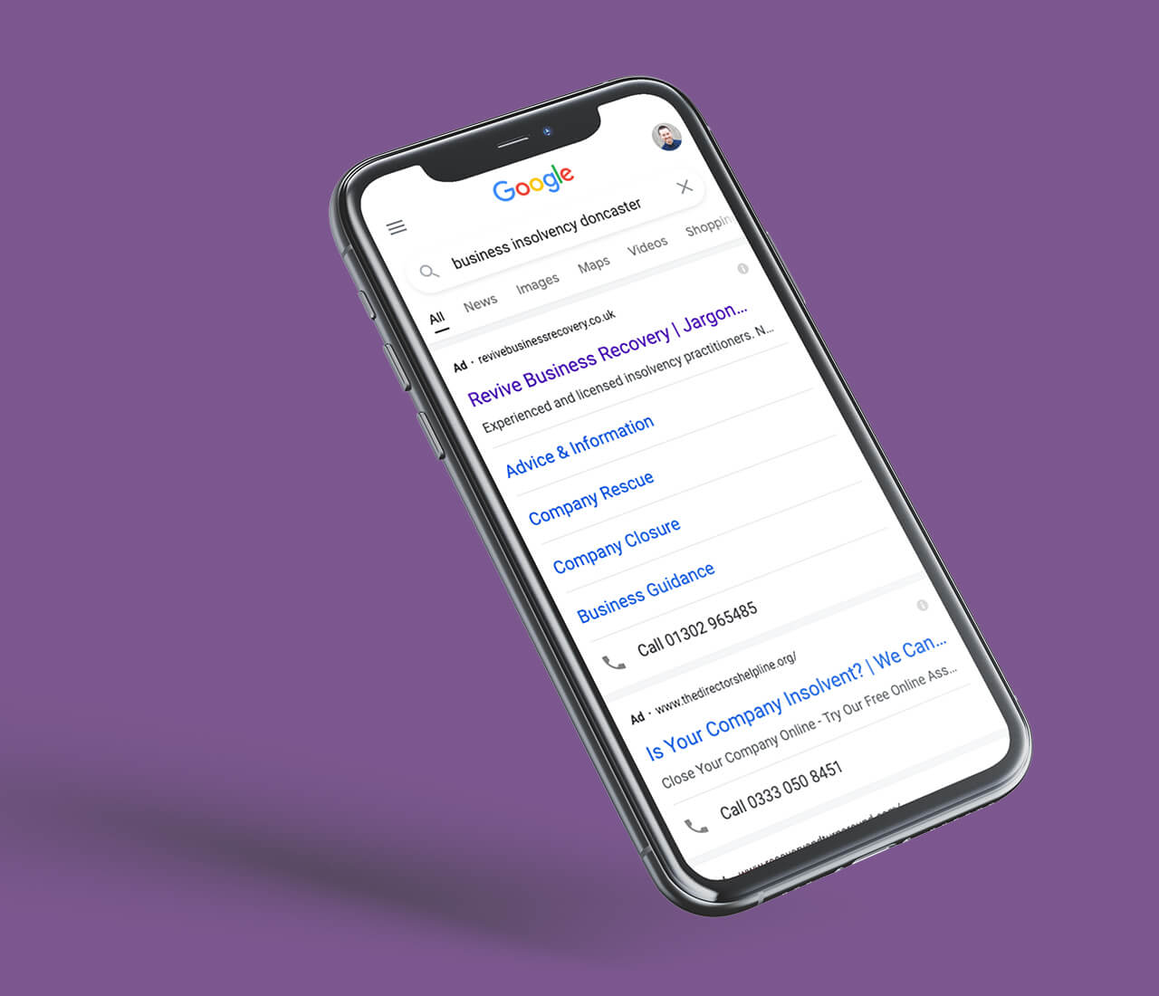revive PPC campaign listing on google
